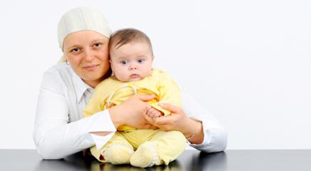 بارداری بعد از سرطان سینه