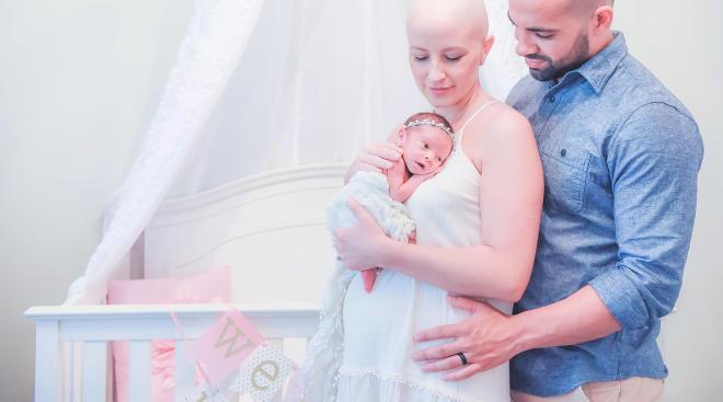 سرطان دهانه رحم در بارداری
